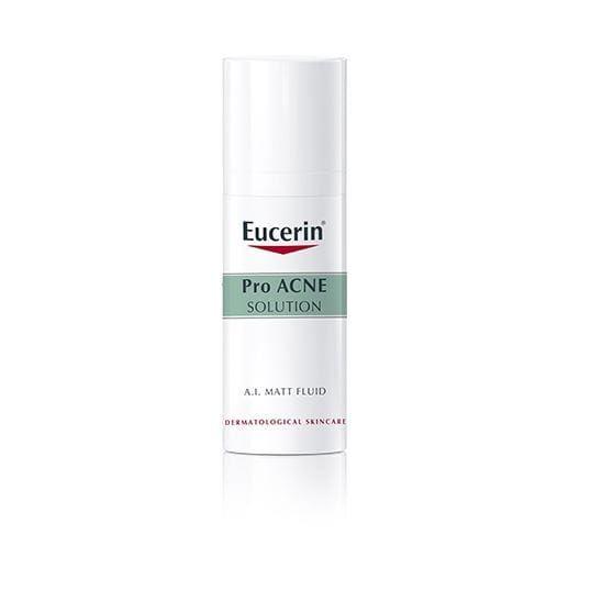 Kem trị mụn đầu đen Eucerin ProAcne A.I Matt Fluid