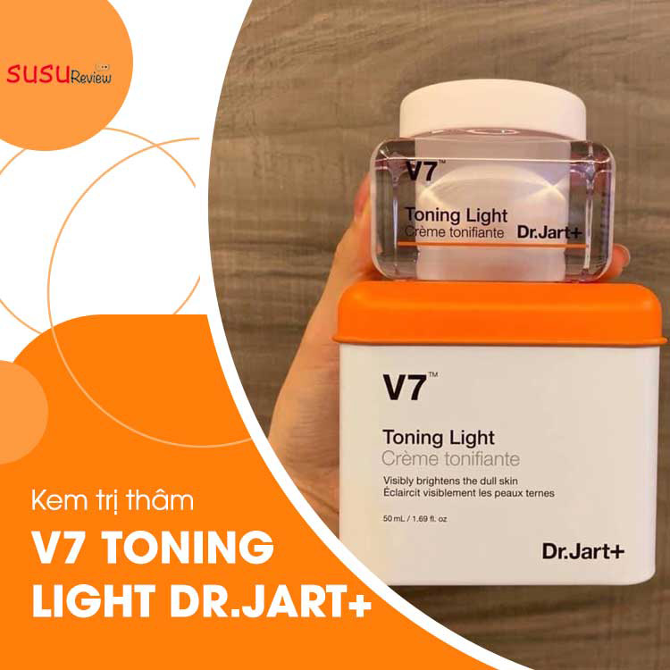 Kem trị thâm mụn V7 TONING LIGHT DR.JART+