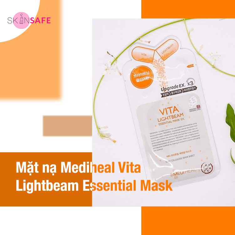 Mặt nạ dưỡng da Mediheal Vita Lightbeam Essential Mask.