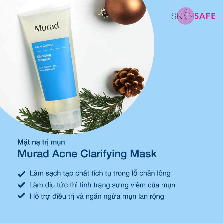 Mặt nạ trị mụn Murad Acne Clarifying Mask
