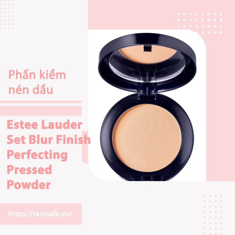 Phấn phủ hoàn thiện trang điểm Estee Lauder Set Blur Finish Perfecting Pressed Powder