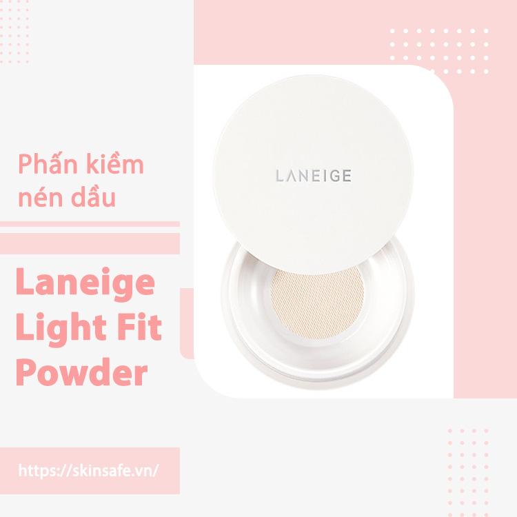 Phấn phủ dạng bột mịn Laneige Light Fit Powder