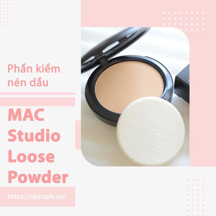 Phấn phủ kiềm dầu MAC Studio Loose Powder