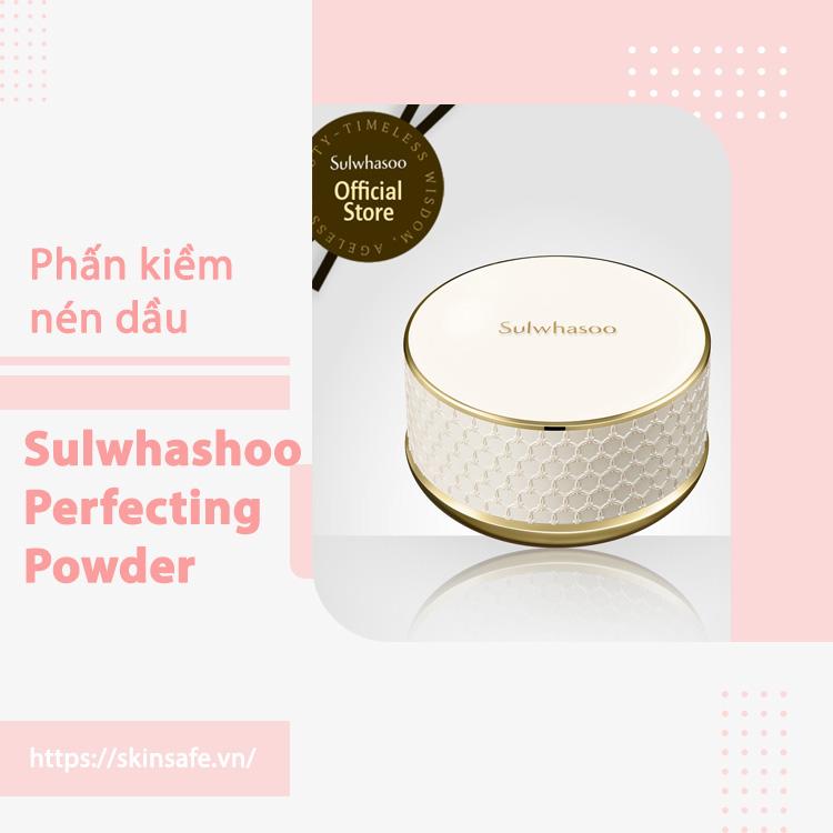 Phấn phủ bền màu, lâu trôi, dưỡng da vượt trội Sulwhashoo Perfecting Powder