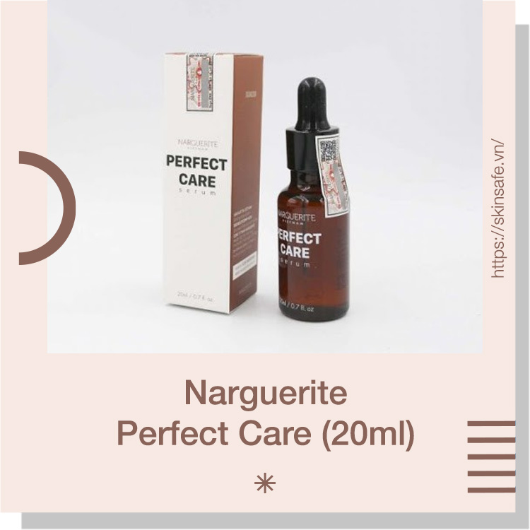 Serum dưỡng trắng tái tạo da ban đêm Narguerite Perfect Care (20ml)