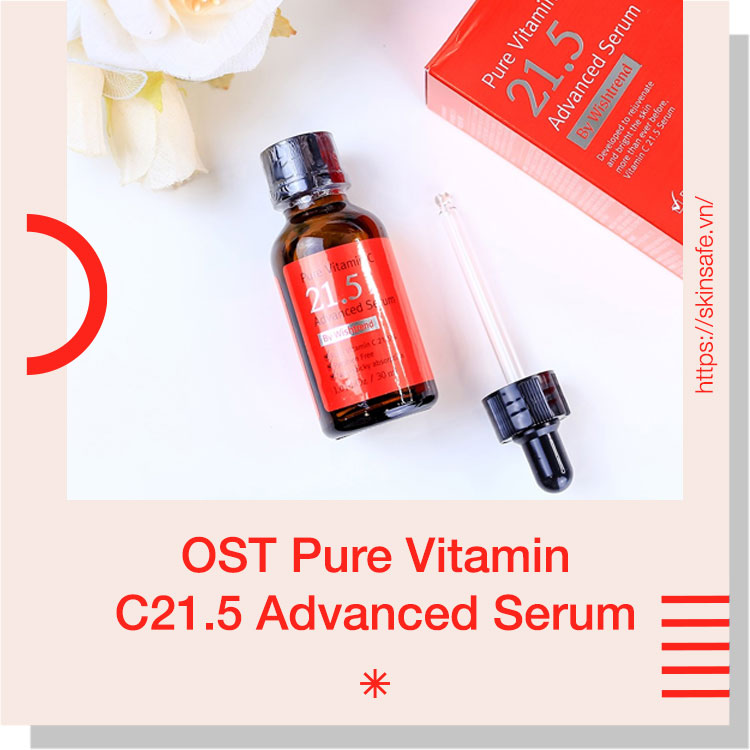 Serum dưỡng da ban đêm OST Pure Vitamin C21.5 Advanced Serum
