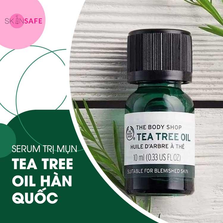 Serum Trị Mụn Tea Tree Anti-Imperfection Daily Solution The Body Shop
