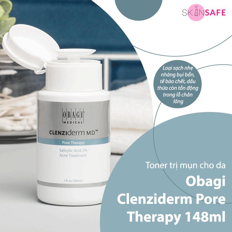 Toner trị mụn Obagi Clenziderm Pore Therapy 148ml